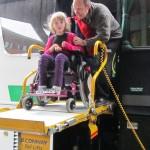 passenger on the coach