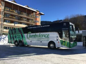 Jumbulance Acquires a new Coach